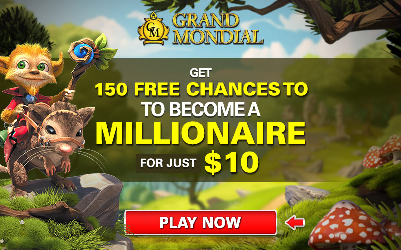 Mondial casino free spins